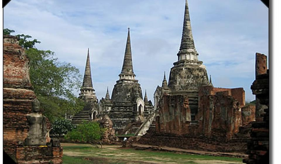 Ancient City and World Heritage Site, Sukhothai, Thailand.