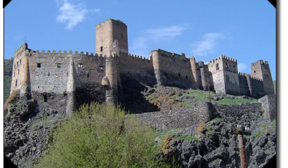 The remains of Khertvisi Fortress, Republic of Georgia.